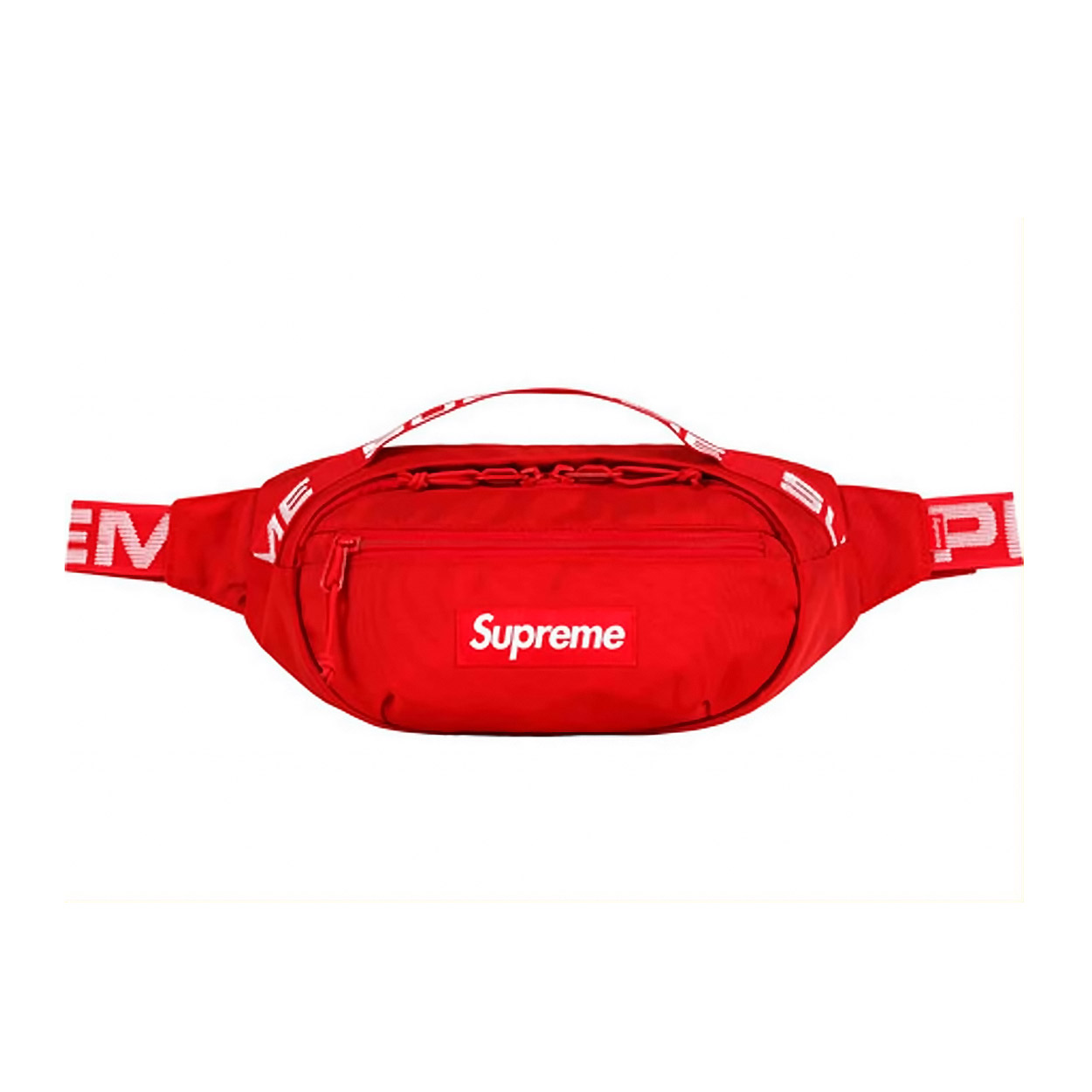 b0f35125f403 Supreme SS18 Waist Bag Red | Novelship: Buy and Sell Sneakers, Streetwear,  100% Authentic
