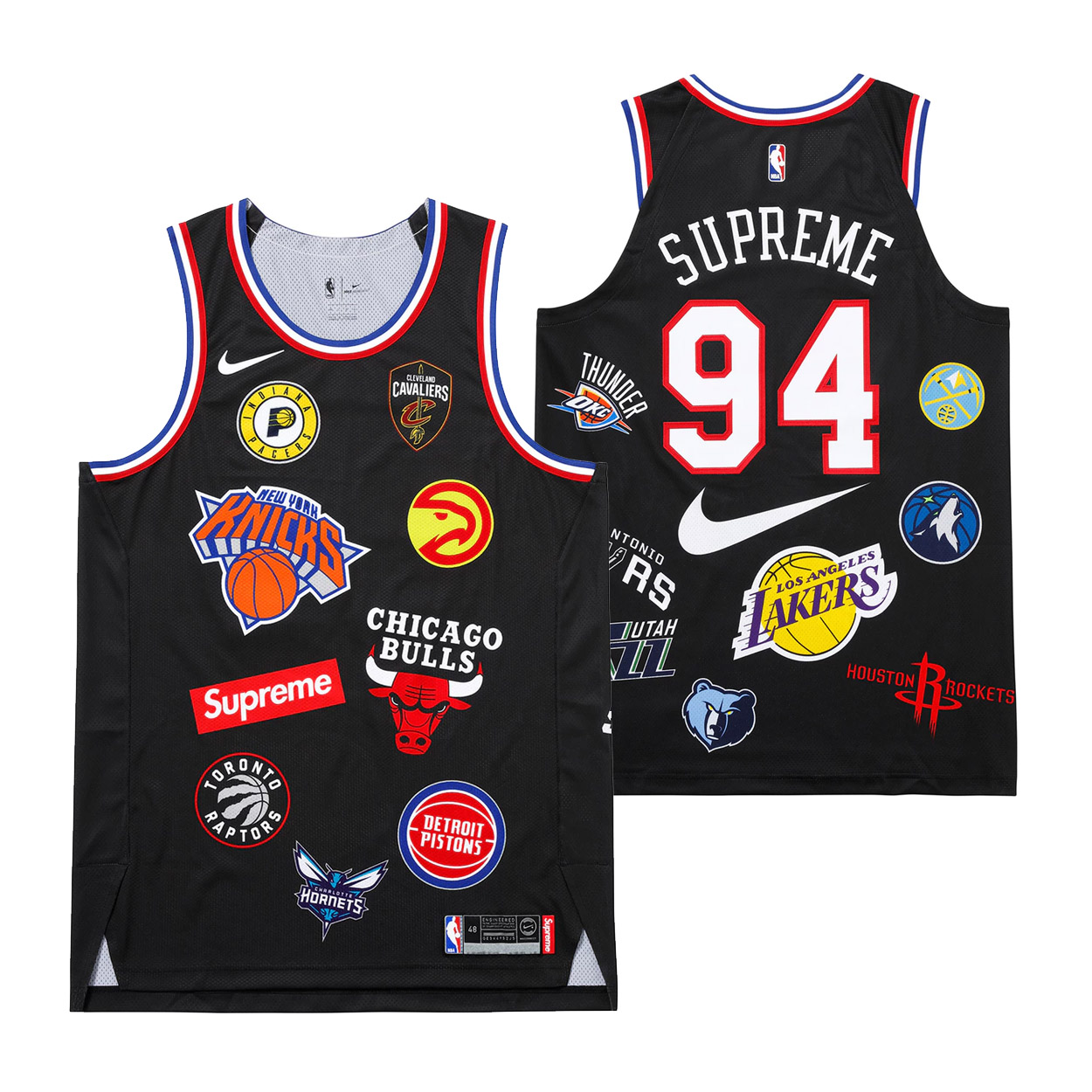 d377fec7 Supreme Nike/NBA Teams Authentic Jersey Black | Novelship: Buy and Sell  Sneakers, Streetwear, 100% Authentic