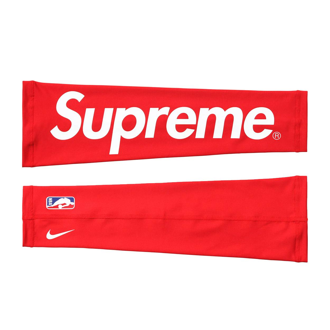 Supreme Nike Nba Shooting Sleeve Shooting Sleeve 2 Pack Red