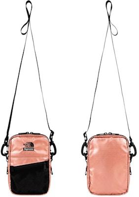 3072903b7 Supreme The North Face Metallic Shoulder Bag Rose Gold