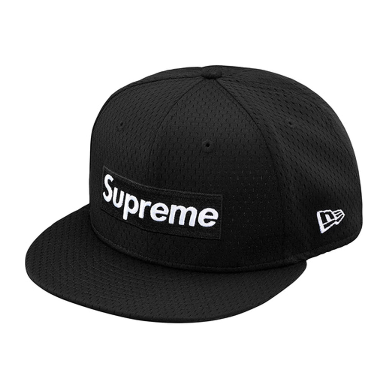 Supreme New Era Mesh Box Logo Cap Black  7165ad38626