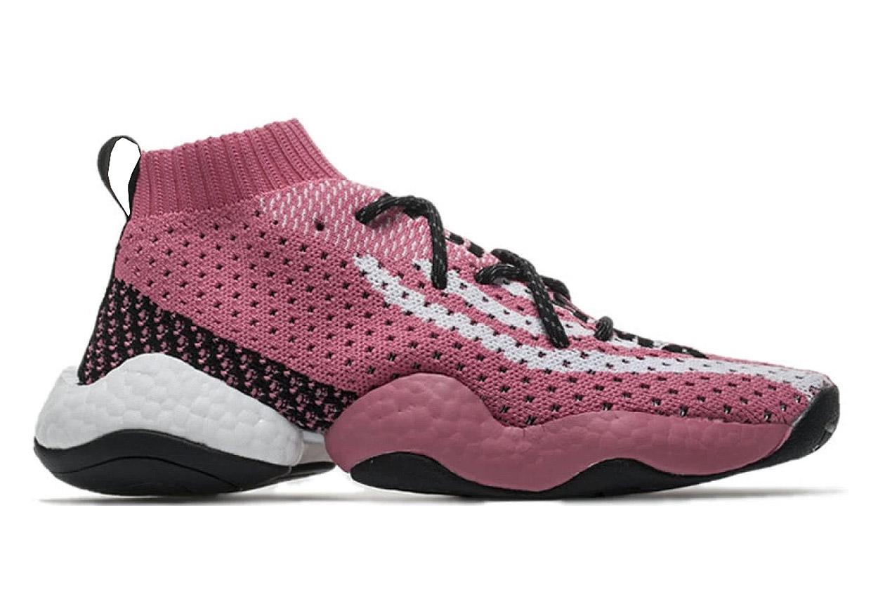 519c0d0b8c0d Adidas Crazy BYW Pharrell Ambition Pink