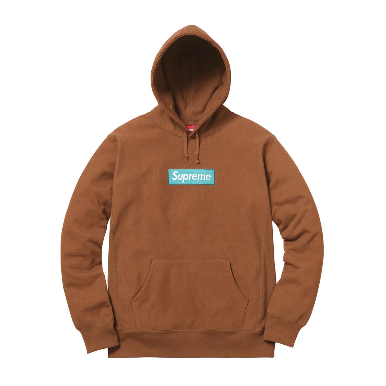 Supreme Box Logo Hooded Sweatshirt Fw17 Rust Novelship And Sneakers Streetwear 100 Authentic