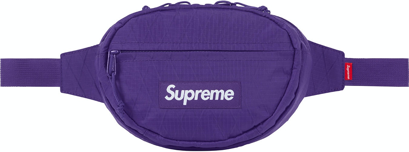 8ac70fe2 Supreme FW18 Waist Bag Purple | Novelship: Buy and Sell Sneakers ...