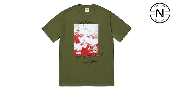 92563985e2b3 Supreme Madonna Tee Olive | Novelship: Buy and Sell Sneakers, Streetwear,  100% Authentic