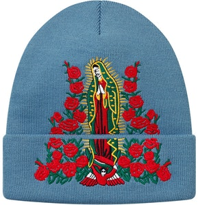be8c234cd Supreme Guadalupe Beanie Slate | Novelship: Buy and Sell Sneakers ...