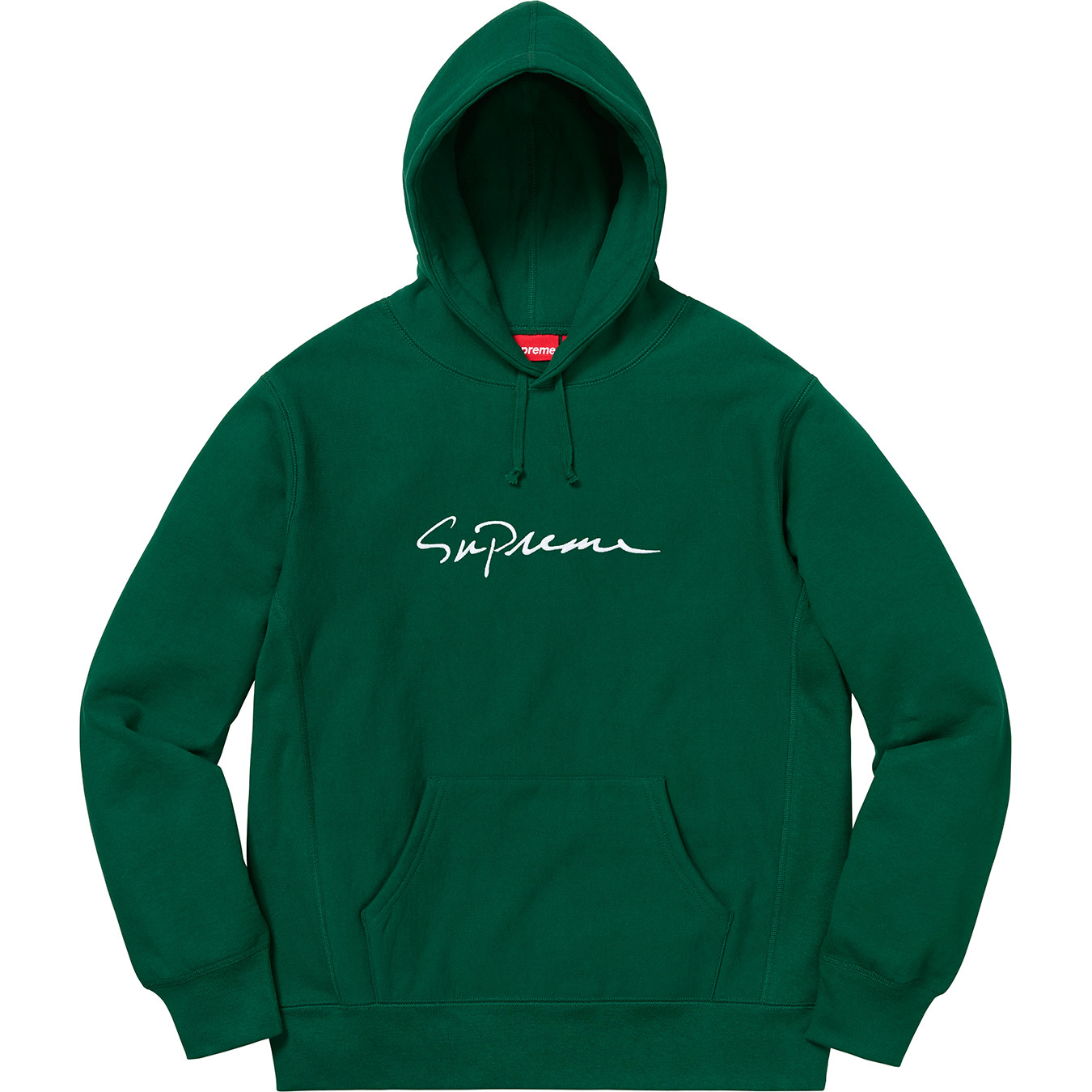 2c0fad84 Supreme Classic Script Hooded Sweatshirt Dark Green | Novelship: Buy and  Sell Sneakers, Streetwear, 100% Authentic