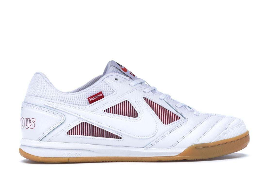 outlet store 75a5d 208bd Supreme Nike SB Gato White