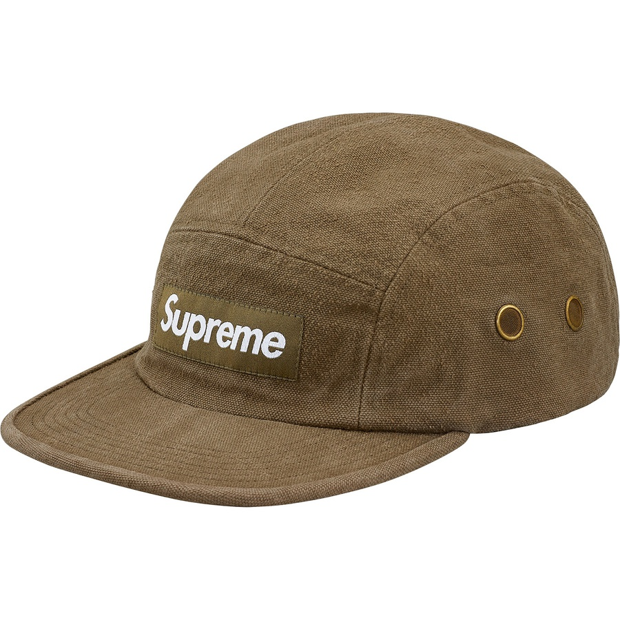 Supreme Napped Canvas Camp Cap Olive Novelship And Sneakers Streetwear 100 Authentic