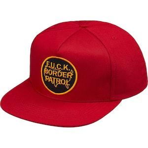 4c036a206c2 Supreme Border Patrol 5-Panel Red