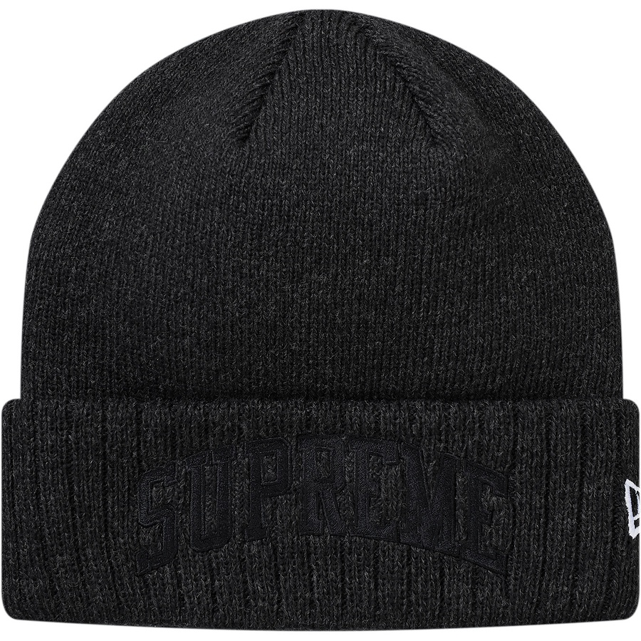 48948b675f Supreme New Era Arc Logo Beanie Black