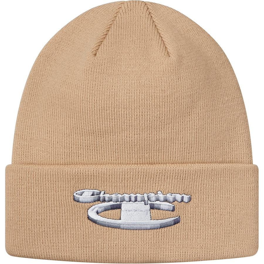 74610790 Supreme Champion Metallic Beanie Tan | Novelship: Buy and Sell Sneakers,  Streetwear, 100% Authentic