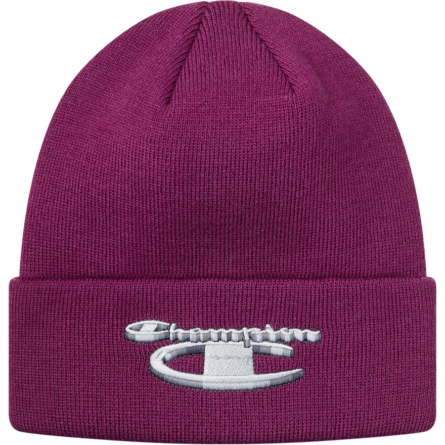 cd906a73d27c1 Supreme Champion Metallic Beanie Bright Purple