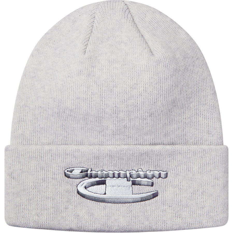 13439992 Supreme Champion Metallic Beanie Ash Grey | Novelship: Buy and Sell  Sneakers, Streetwear, 100% Authentic