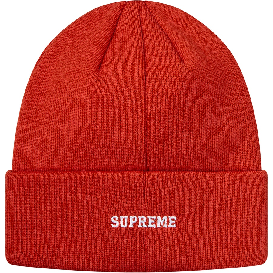 46983170ce2e3 Supreme Champion Metallic Beanie Brick Red