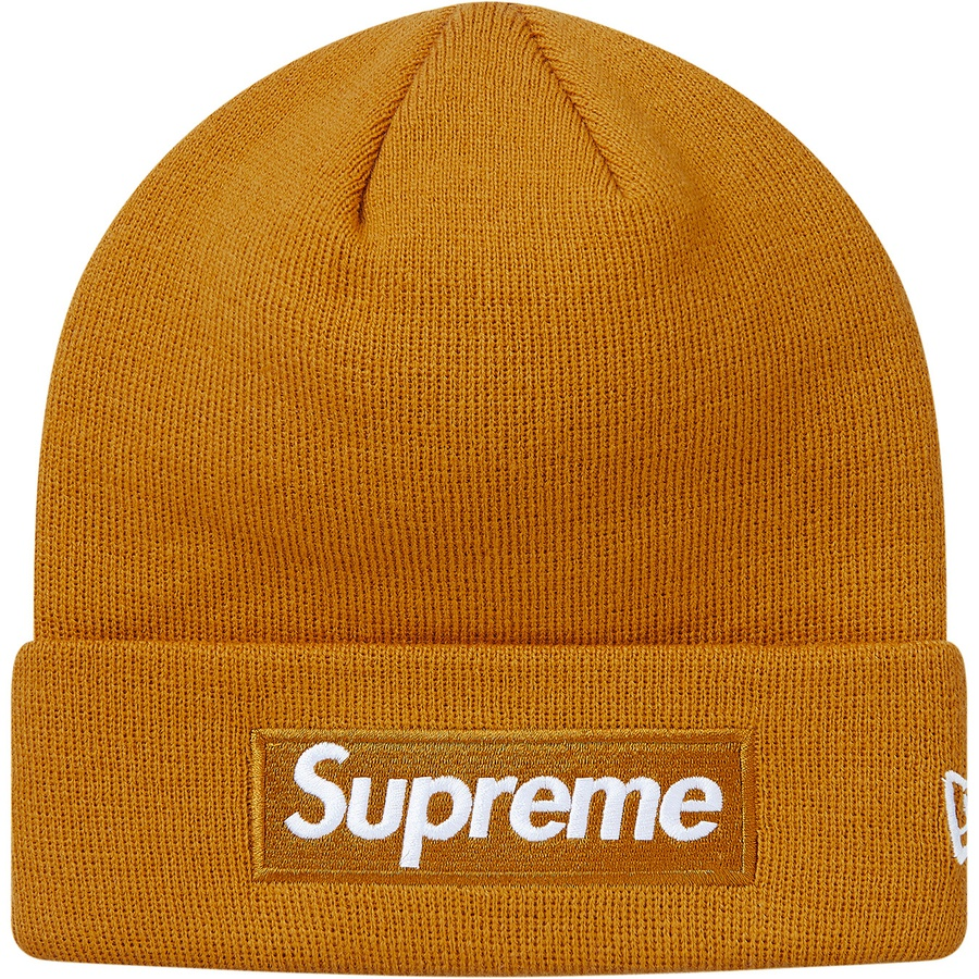 66d806a7f5c Supreme New Era Box Logo Beanie Mustard. Condition  Brand New 100%  Authentic. One-size