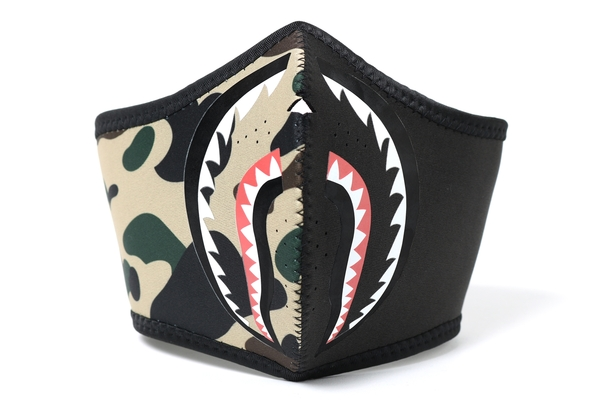 5d849d46 Bape FW18 1st Camo Shark Mask Yellow | Novelship: Buy and Sell ...