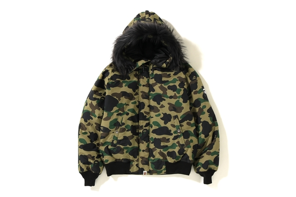 3d3bb2a66cceb Bape 1st Camo N 2B Down Jacket Green | Novelship: Buy and Sell Sneakers,  Streetwear, 100% Authentic