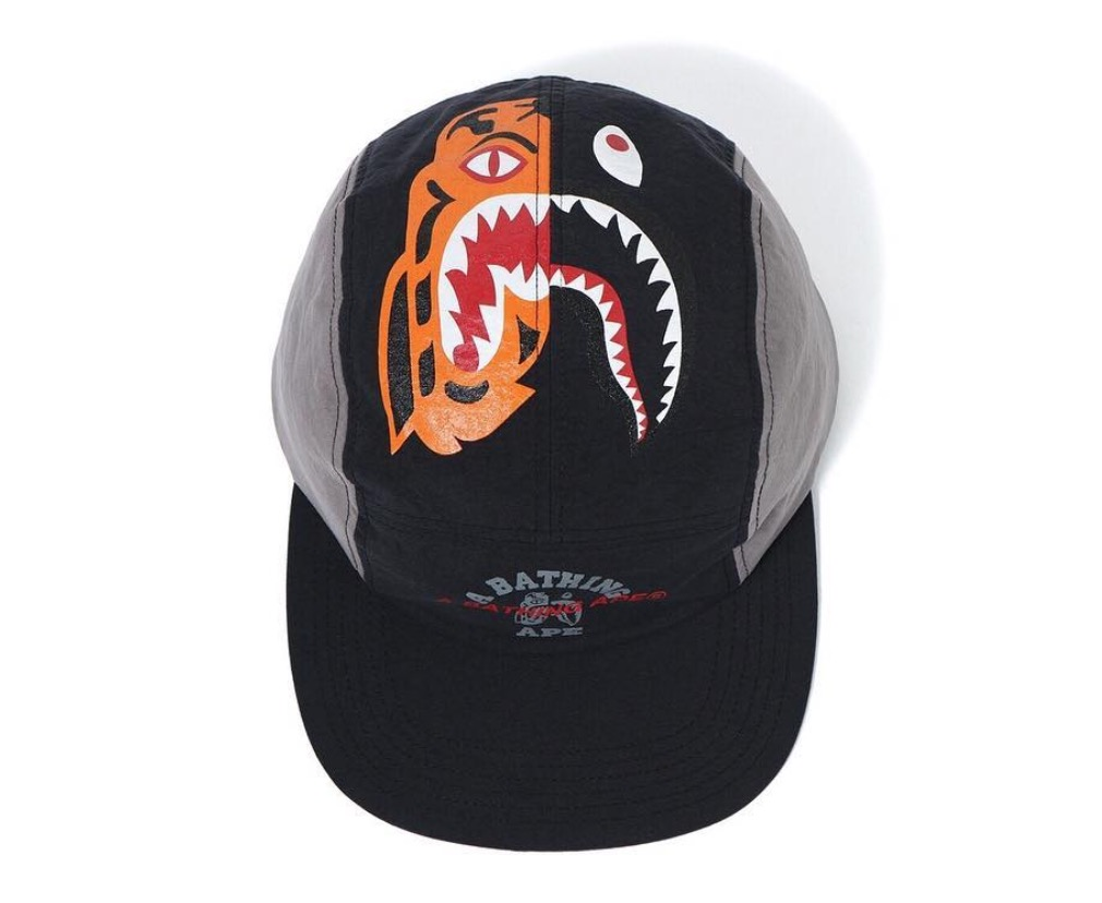 Bape Tiger Shark Jet Cap Black  27b5d375a