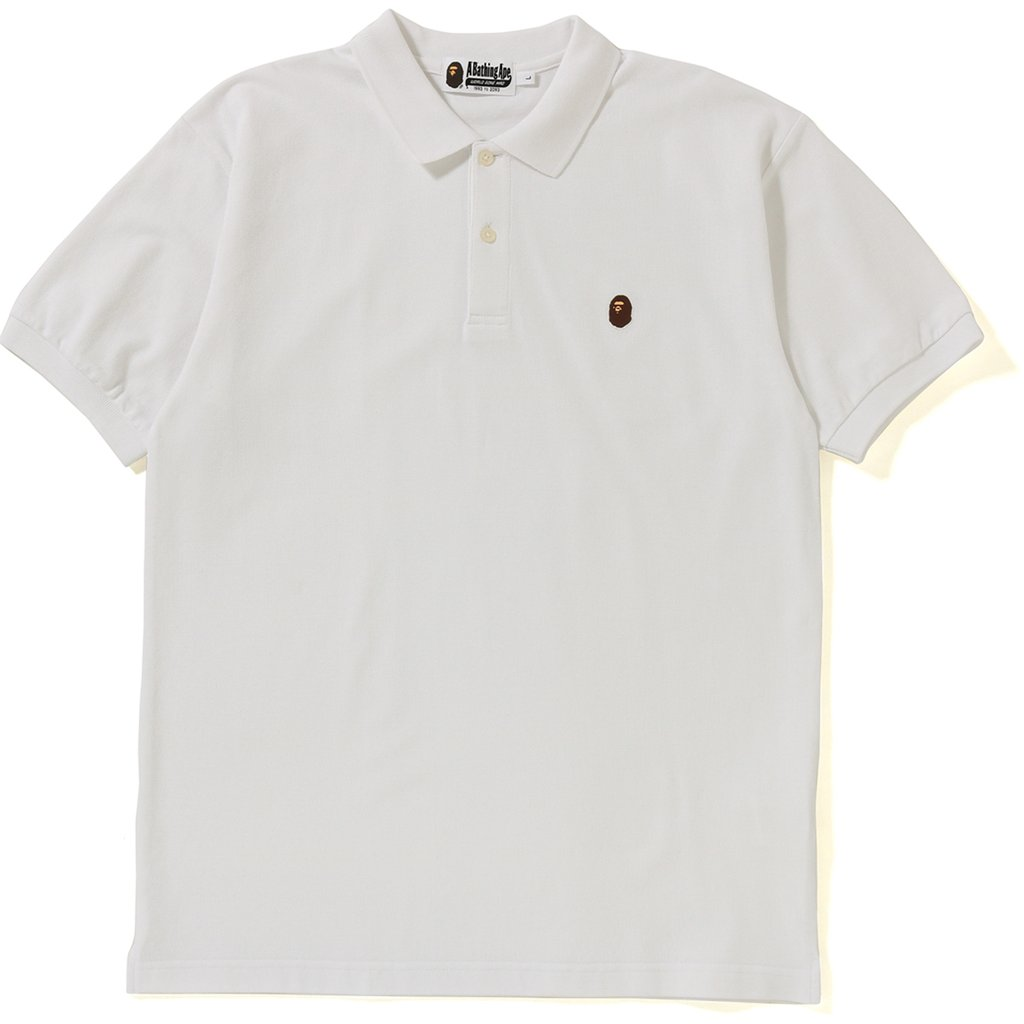 c91920f2 Bape Silicon Ape Head One Point Polo White | Novelship: Buy and Sell  Sneakers, Streetwear, 100% Authentic