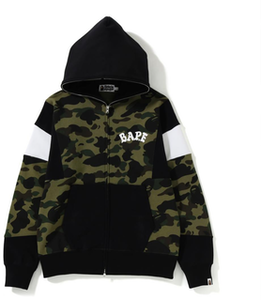 a821d32443f09 Bape 1st Camo Color Block Padded Jacket Green | Novelship: Buy and ...