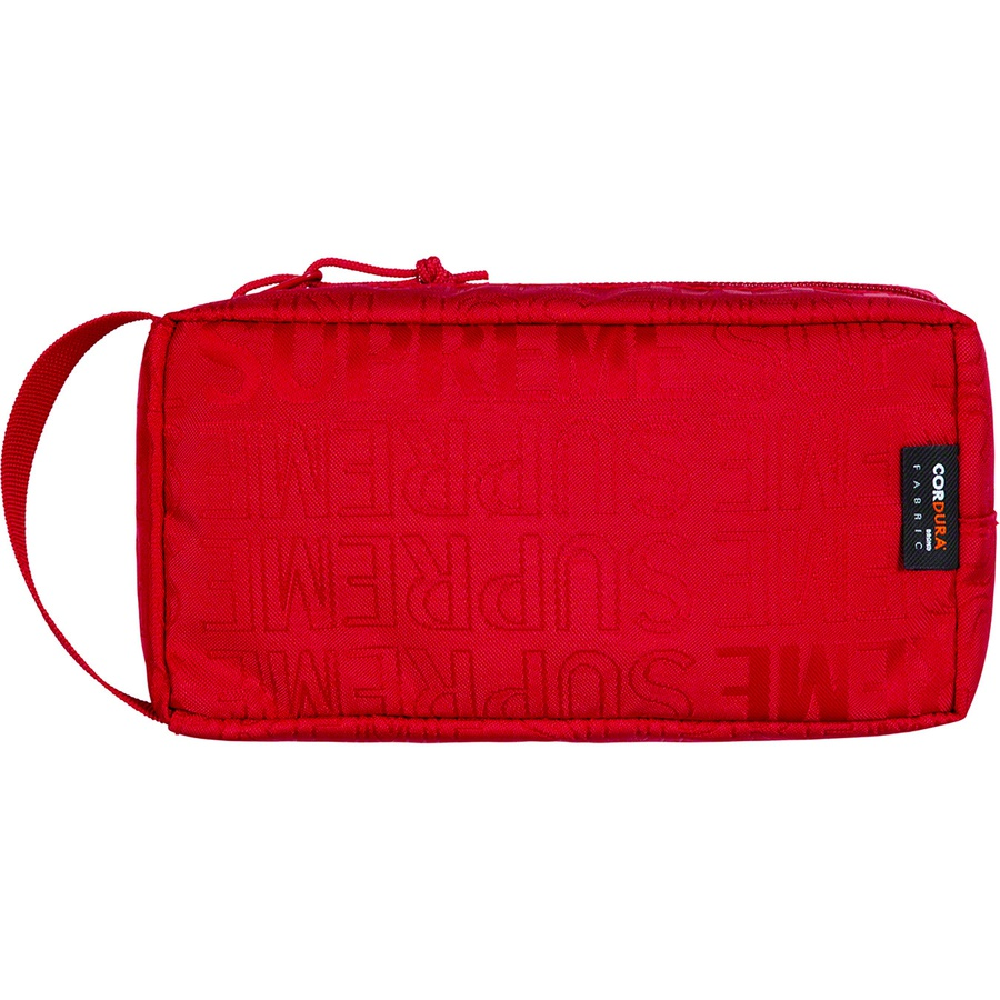 1a5aa23bc26 Supreme SS19 Organizer Pouch Red   Novelship: Buy and Sell Sneakers ...