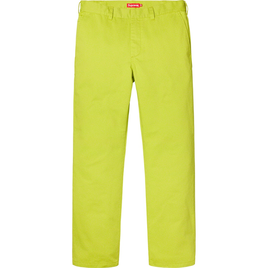41848947748b Supreme Work Pants Yellow | Novelship: Buy and Sell Sneakers ...