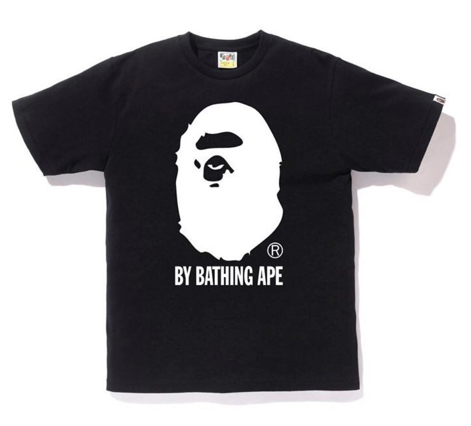 4b13824a Bape Bicolor By Bathing Tee Black   Novelship: Buy and Sell Sneakers ...