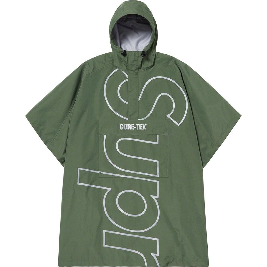 1393d88723c321 Supreme GORE-TEX Poncho Olive