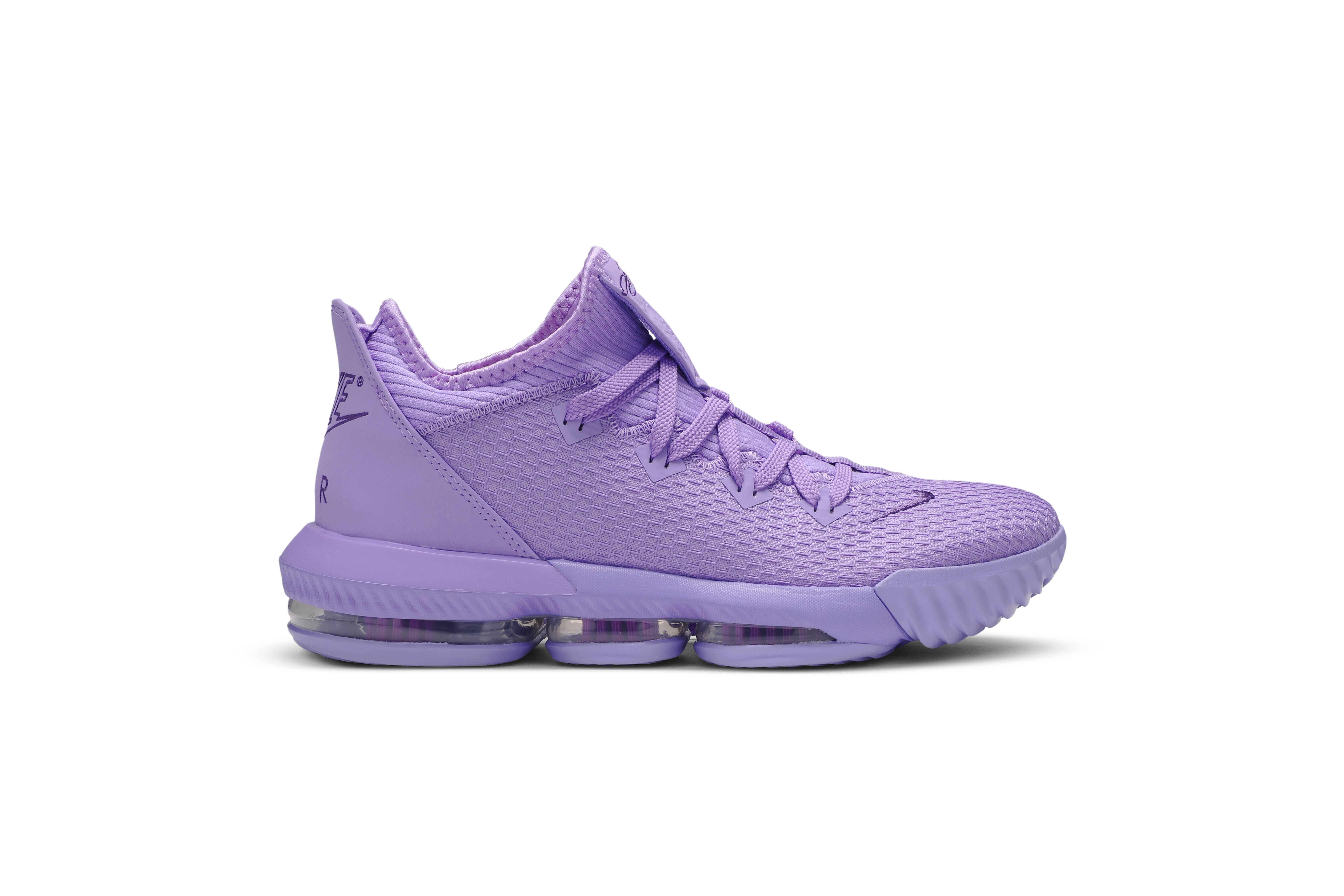 Nike LeBron 16 Low 'Atomic Purple
