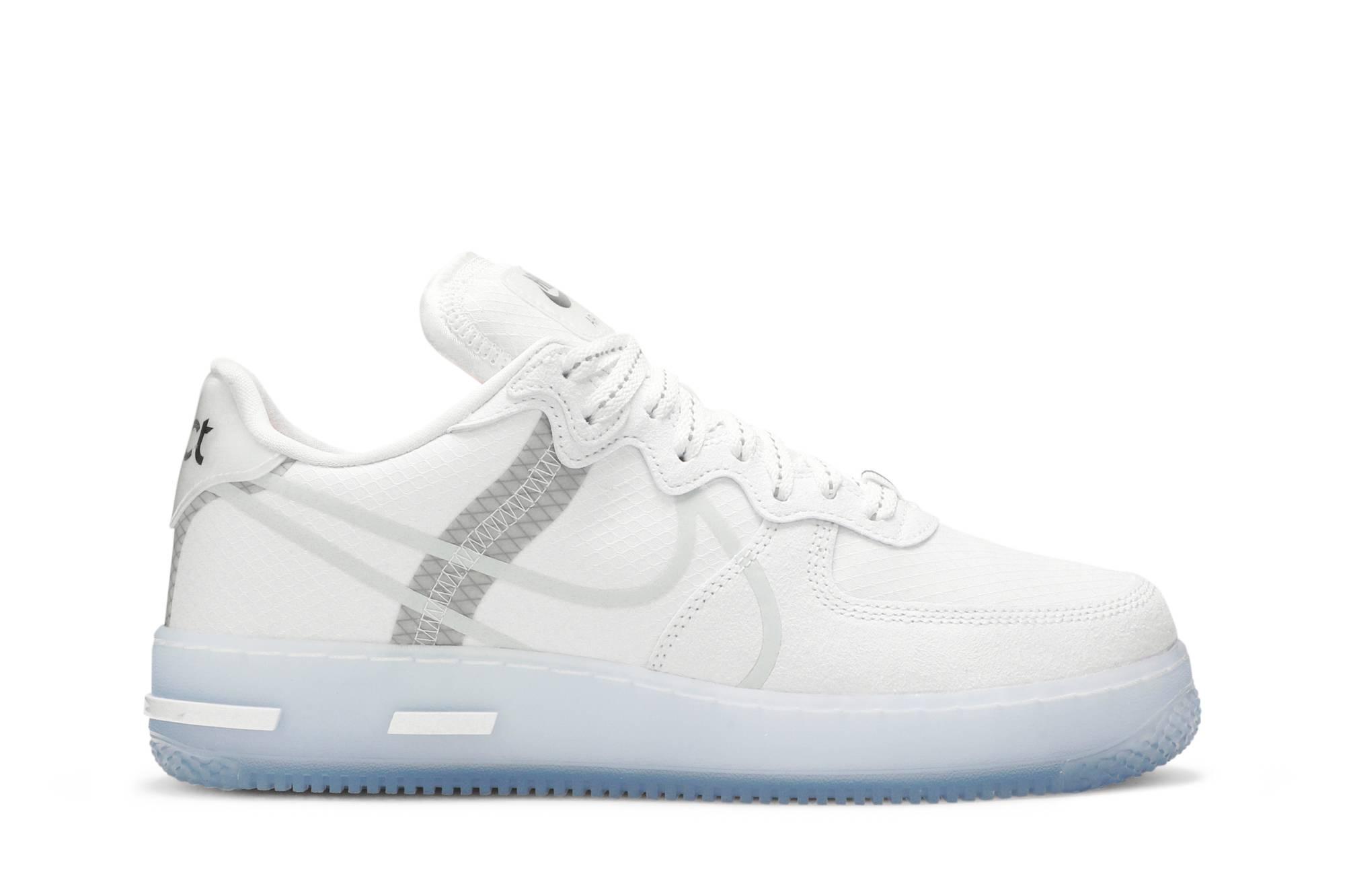 Nike Air Force 1 React QS 'White Ice