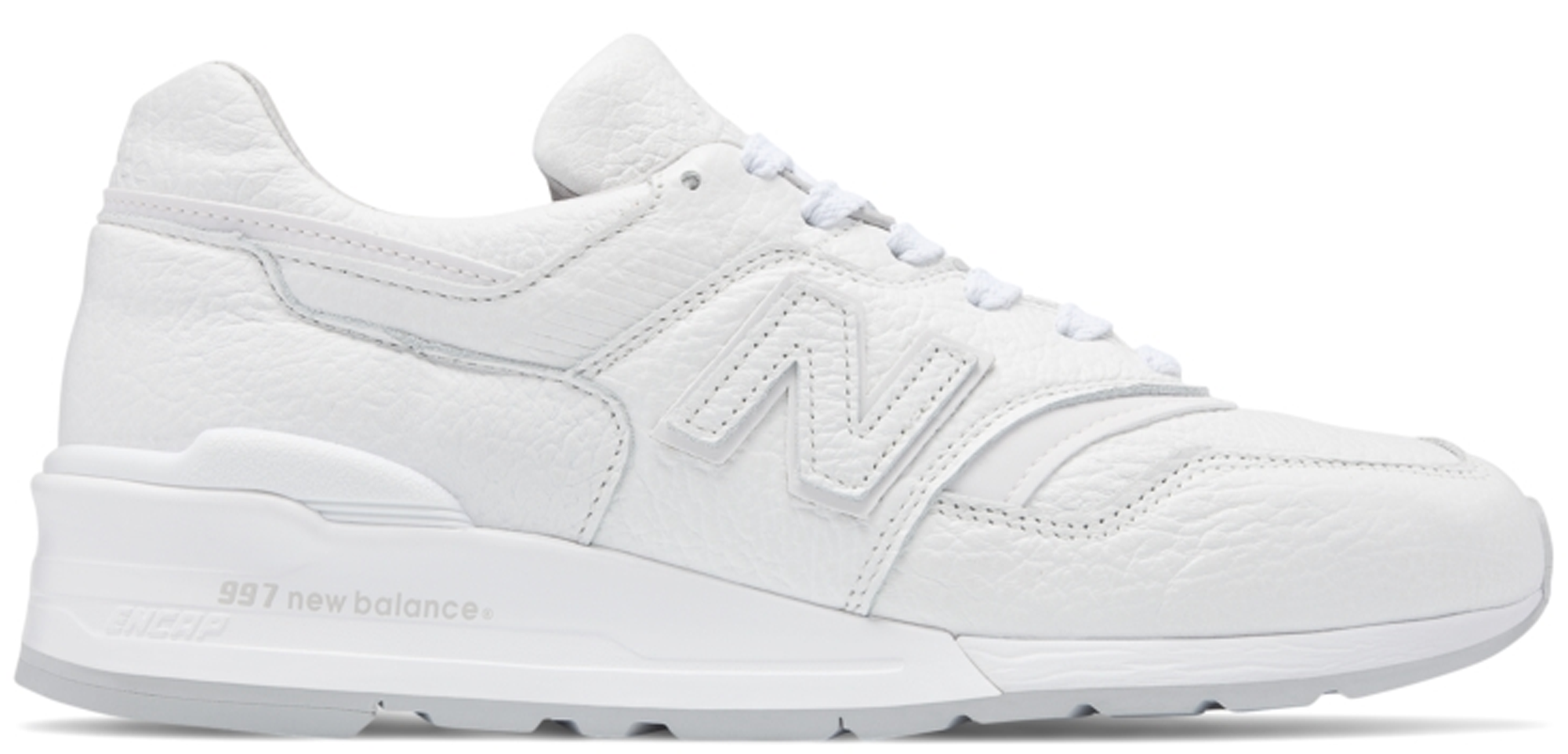 new balance 997 bison white