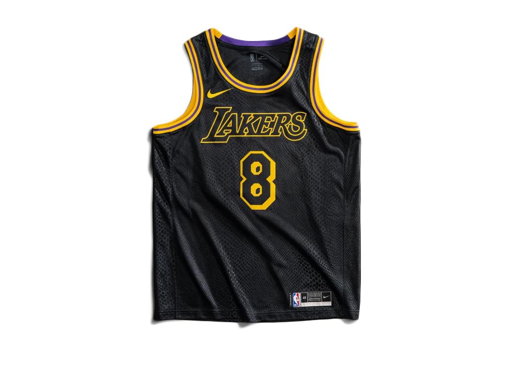 lakers black mamba jersey