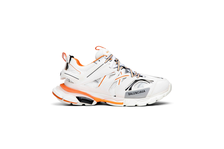 Balenciaga Track Trainer 'White Orange