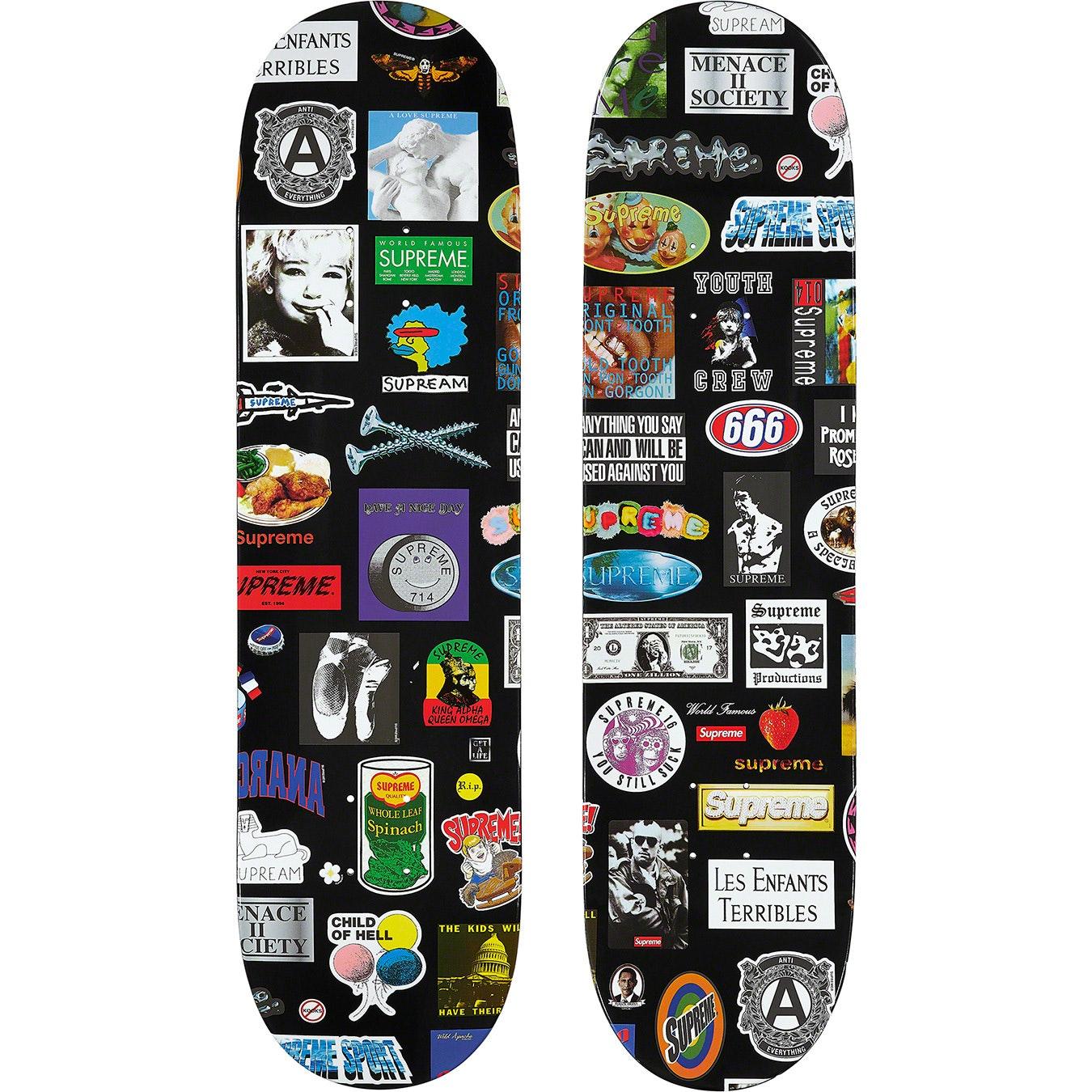 RARE New SUPREME BLACK MOSES STICKER DECAL Skateboard Skate Skater with Cross OG